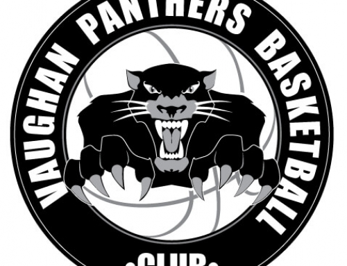 Vaughan Panthers Basketball Logo