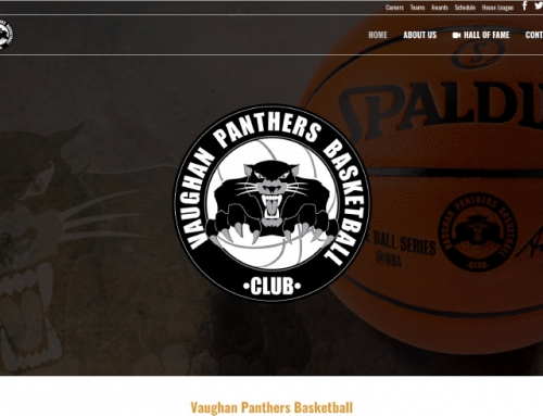Vaughan Panther's Basketball Website